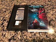 Star Treck III 3 The Search For Spock Rare VHS! 1984 Paramount Pictures Print!