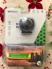 NIB~VIVITAR Full HD Video/Wi-Fi Action Camera DVR968HD-Factory Sealed