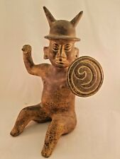 Stunning Large Pre-Colombian Ceramic Statue.