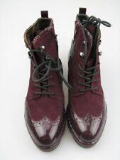 Scarpe da donna rosse con tacco medio (3,9-7 cm) con stringhe