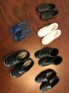 Vintage Barbie Doll Clothing -- KEN Collection of Shoes 6 Pair