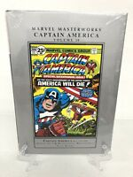 Captain America Volume 10 Collects #193-200 Marvel Masterworks HC New Sealed