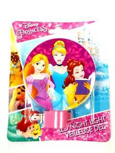 Disney Princess LED Night Light Plug in with Bulb, Indoor Use !