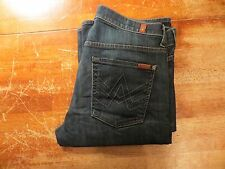 """7 FOR ALL MANKIND ORIGINAL """"A"""" POCKET IN DRIFT WOOD WASH (EUC) SIZE 32X33"""
