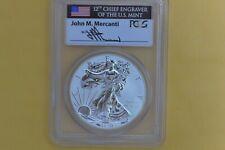 2013-W $1 West Point Mint 1 oz Silver Eagle PCGS Mercanti PR69 Reverse Proof