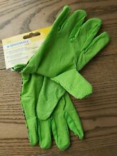 Kids Small Size Knitted Gloves Latex Foam Coated Clean Nails Garden Work Size 5