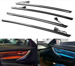 LED Ambient Interior Lights Black Door Trims BMW 3 Series F30 F31 320 325 330 35