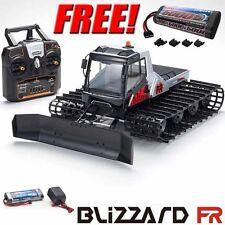 Kyosho Blizzard FR 1/12 EP Belt Snow Vehicle RTR w/ Radio + Free Extra Battery