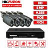 4CH X 5 MP PoE IP Camera H.265 NVR Security Camera CCTV Surveillance System AU