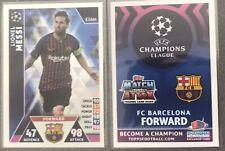 Topps Match Attax UEFA Champions League 2018/2019 Messi Exclusive Card Shanghai