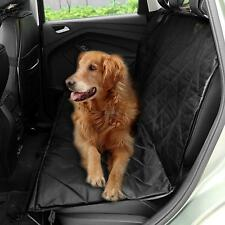 Seat Cover Rear Back Car Pet Dog Travel Waterproof Bench Protector Black hfor