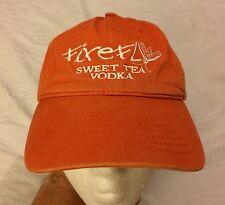 Firefly Sweet Tea Vodka Orange Cap Hat Adjustable VGUC