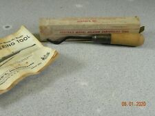 Herter's  Belgian Checkering Tool # 18  W/ Box and Instructions Vintage