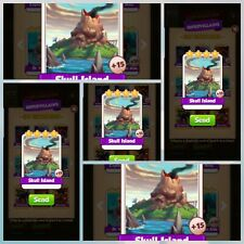 Skull Island X5 pack - Coin Master - Immediate Delivery