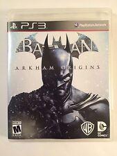 Batman Arkham Origins - Playstation 3 - Replacement Case - No Game