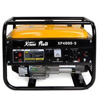 4000 Portable Gas Generator Engine 7HP 120v EPA Jobsite Camp home emergency