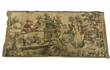 French Tapestry Romance Courting Runner Made in Italy