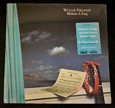 scellé vieux stock WILLIE NELSON COLUMBIA 39110 Without a song