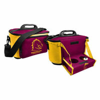 NRL Drink Cooler Bag With Tray - Brisbane Broncos  - Team Logo - BNWT
