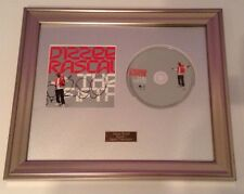 PERSONALLY SIGNED/AUTOGRAPHED DIZZEE RASCAL - THE FIFTH CD  FRAMED PRESENTATION.