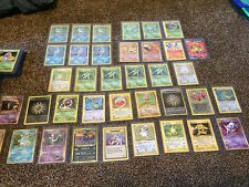 pokemon Near Mint card lot 20 cards All cards from Base set - Team Rocket