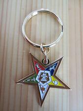 Masonic Key Chain K04 Mason Freemason Order of the Eastern Star