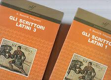 gli scrittori latini-3 volumi -liceo classico-