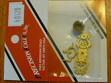 Precision Scale O #40120 Bell, & Bracket kit, (Brass Casting)