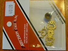 Precision Scale O #40120 Bell, & Bracket kit, (Brass Casting)