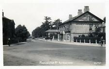 Altrincham Manchester Road Pub George & Dragon unused RP old postcard Good