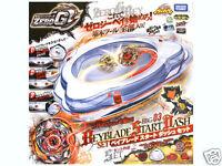 TAKARA TOMY BEYBLADE ZERO-G BBG03 START DASH SET Samurai Ifraid+Launcher+Stadium