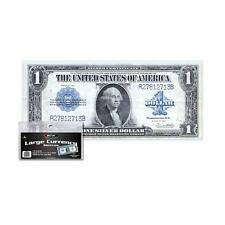 1 Pack 100 BCW Currency Soft Poly Sleeves Large Bill Holder Protection Storage