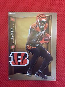 A.J. AJ GREEN 2019 Cincinnati Bengals uni w/ Logo Fathead Mini Card #47 L@@K