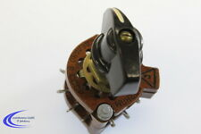Stufenschalter 2x5 Kontakte - Knebelschalter mit Rastung - Drehschalter