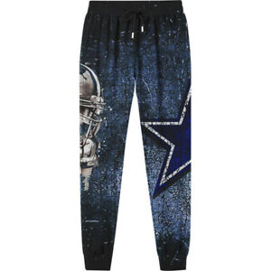 Dallas Cowboys Casual Fans Pants Sweatpants Loose Lightweight Trousers Gift