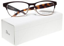 69199550b085 NEW Christian Dior CD3782 MJJ BROWN HAVANA IVORY EYEGLASSES 54-16-145 B35.