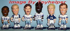 "Dallas Cowboys Football 6"" Bobblehead Set Pepsi Promo Bobble Head"
