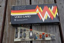 Oberheim Dmx Voice Card 1554a Drum Machine Analog