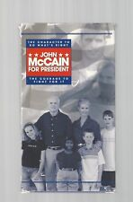 JOHN McCAIN for President 2000 Orig Campaign VIDEO Political GOP Election vtg Ad