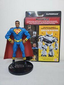 "DC COMICS MULTIVERSE EARTH 23 SUPERMAN President Calvin Ellis 6"" FIGURE Mattel"