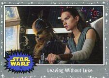 Star Wars JTTROS Silver Parallel Base Card #53 Leaving Without Luke