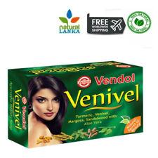VENDOL VENIVEL SOAP Herbal Ayurvedic Beauty Soap 80g - NATURAL Soaps Sri Lanka