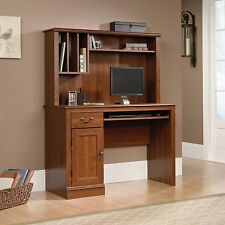 Computer Desk With Hutch - Planked Cherry - Camden County Collection (101736)