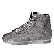 scarpe donna MANCAPANE 35 EU sneakers grigio tessuto BX169