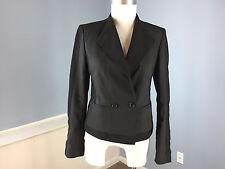 Ann Taylor XXS 0 Black Blazer Jacket Excellent Career Casual cotton