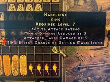 Diablo 2 Resurrected D2R Softcore PC - Nagel Ring 30% MF