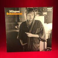 NILSSON Nilsson Schmilsson 1972 UK vinyl LP + POSTER EXCELLENT CONDITION