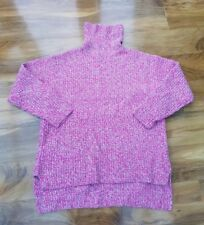BODEN LADIES GORGEOUS Pink Relaxed Toasty Roll Neck jumper. UK size XL WV066
