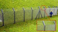 Ancorton Models 95722 Security Fencing kit with Barbed wire 00 Gauge Model Rail