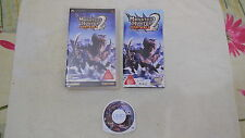 MONSTER HUNTER PORTABLE 2 , SONY PSP, GIAPPONESE/ JAP/IMPORT/JP